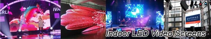 LED Video Werbung indoor