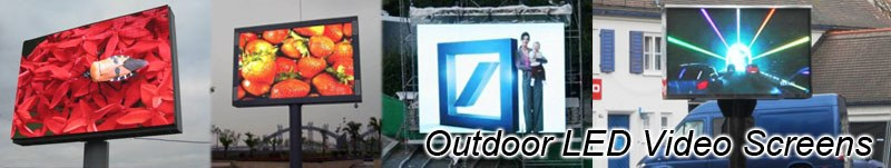 LED Video Werbung outdoor