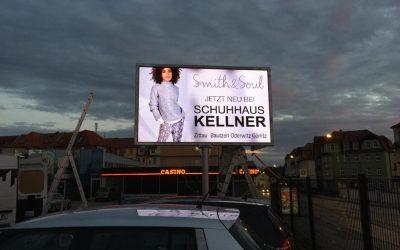 Neue LED Video Wand in Bautzen