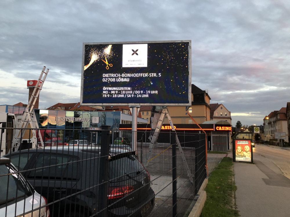 LED Werbewand in Bautzen