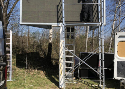LED Video Wand Löbau